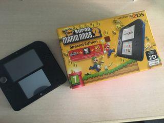 Nintendo 2DS + Super Mario Bros.2