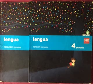 Libros de Lengua 4º de Primaria Editorial SM