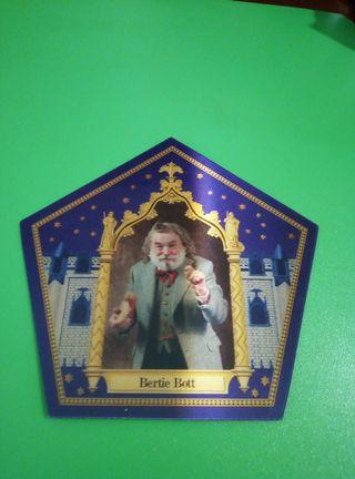 Bertie bott cromo rana chocolate harry potter