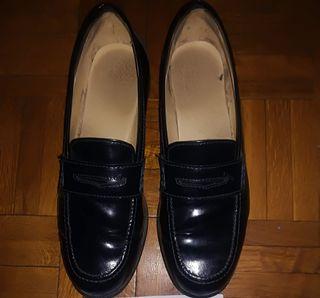 zapato piel mocasín num. 38