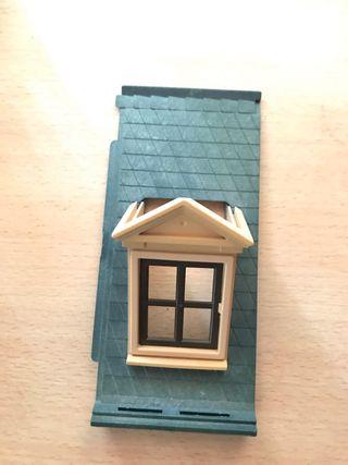 Playmobil tejas casa victoriana tejado