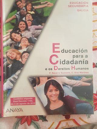 Libro Ciudadanía Educación secundaria