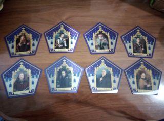Coleccion cromos ranas de chocolate Harry Potter