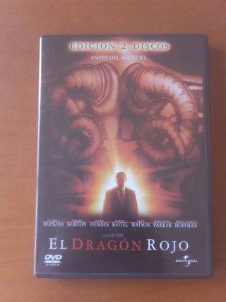 El Dragón Rojo 2 Dvd's