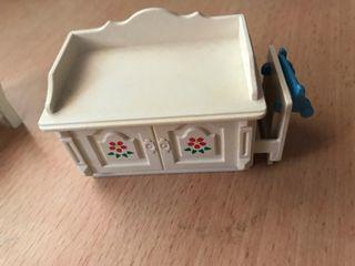 Playmobil mueble habitación casa victoriana