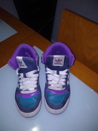 zapatillas niña 36 adidas