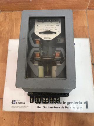 Contador analógico 1960