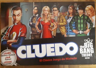 Cluedo edición Big Bang Theory