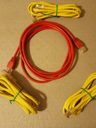 CABLES VARIADOS RED HDMI RCA VGA...