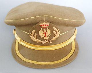 Gorro con visera oficial Del ejército Español