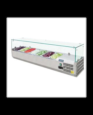 Vitrina frigorífica para ingredientes Polar 7 cube