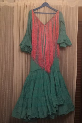 precioso traje verde agua de Micaela Villa