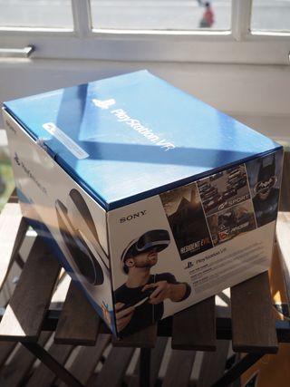 Gafas de realidad virtual playstation