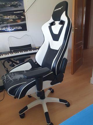 Sillón gamer Ak racing para tapizar