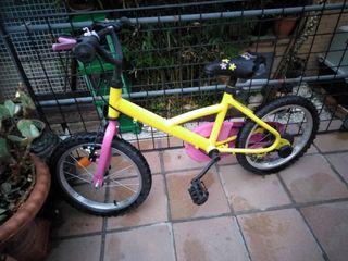 bicicleta niña o niño de 4años a 7años