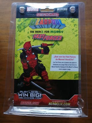 Fast Forces Deadpool the Mercs For Money Heroclix