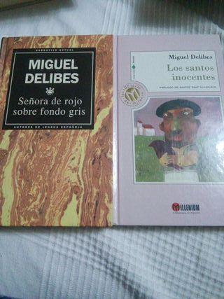 Delibes: Santos inocentes y Sra de rojo sobre fond