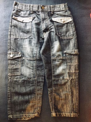 Denim trousers for children