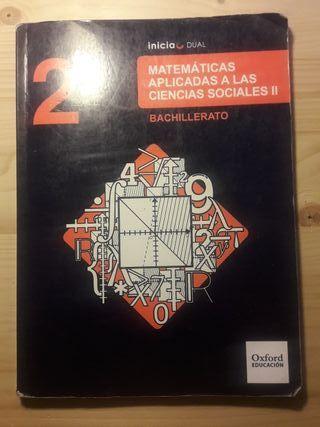 Libro matematicas aplicadas a las cs segundo bach