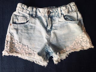 Denim shorts for little girls
