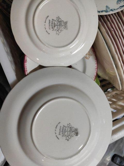 Ensemble d'assiettes - 3 modeles