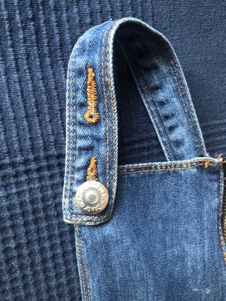 Denim bib overalls for children