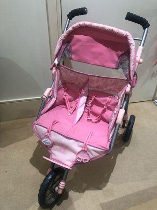 Baby Born Twin Buggy