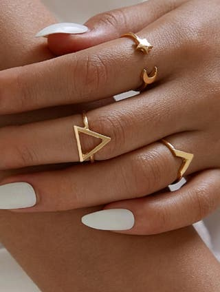 3 anillos (lote) ajustables