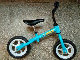 Bici infantil sin pedales