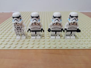 Pack 4 soldados lego Star Wars