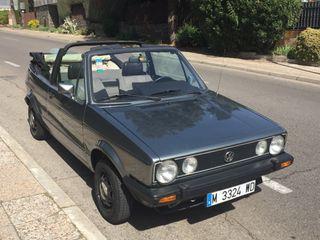 Volkswagen Golf MK1 cabrio 1980