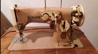 bordadora Singer pedal y automática
