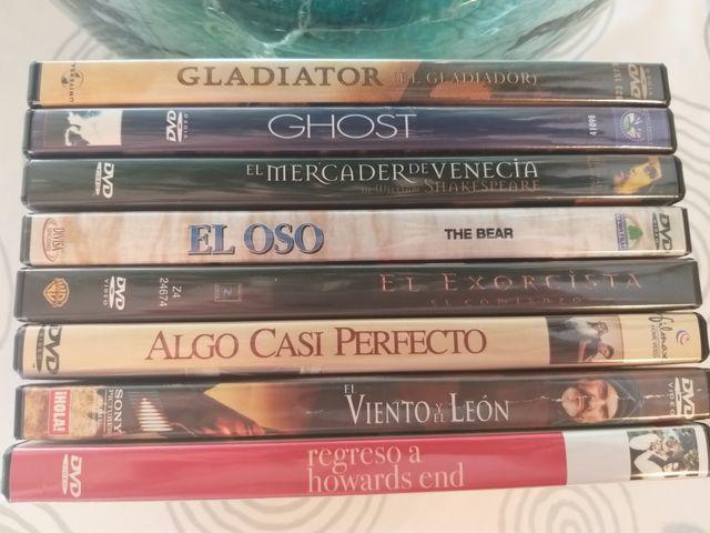 CHOLLO¡!! lote 8 películas dvds ORIGINALES.