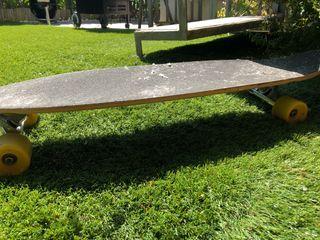 Monopatín Longboard