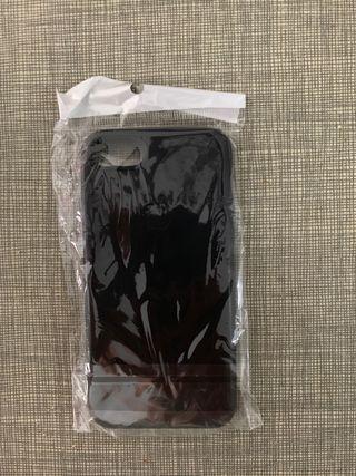 Funda iphone 7 estilo cuero ultra delgada