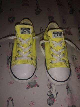2converse amarilla 25