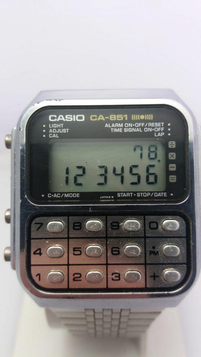 CASIO CA-851 CALCULADORA GAME INVADERS MODULO 134