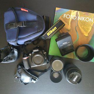 Pack cámara réflex D3100