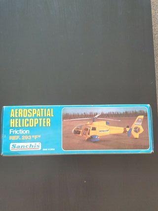 helicóptero de juguete marca sanchis