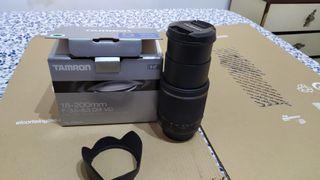 Objetivo Canon 18-200mm