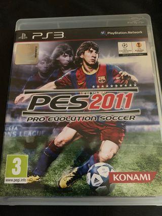 PES2011 pro evolution soccer. PS3