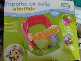 Asiento bebé bañera.Nueva con caja original.