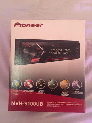 Radio Pioneer MVH-S100UB Nueva A Estrenar