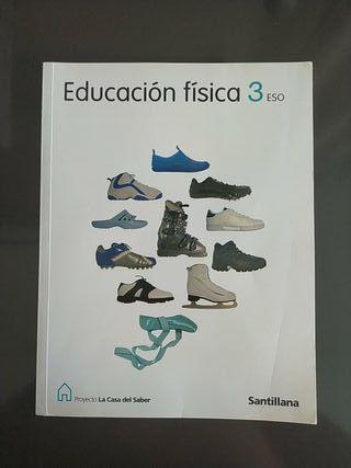 Libro Educación física 3 ESO Santillana