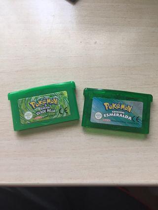Juegos pokemon game boy advance