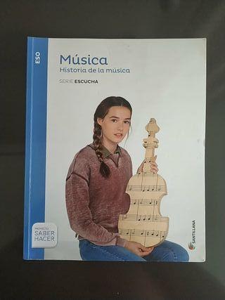 Libro Música 3 ESO Santillana