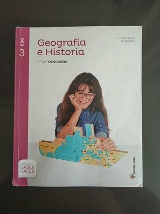 Libro Geografía e Historia 3 ESO Santillana