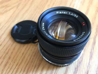Objetivo Carl Zeiss Planar 50 mm 1.4.