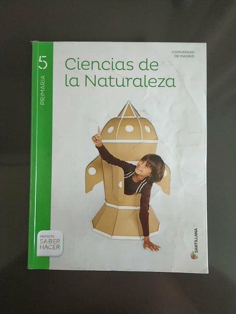 Libro Ciencias Naturaleza 5 primaria Santillana