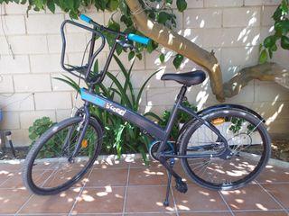 """Bicicleta de paseo 20"""" con cambio automático"""